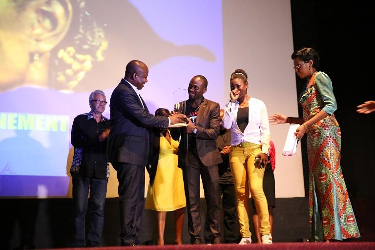 Quifilma 2016 : Sosthène Ngokila décroche le meilleur prix