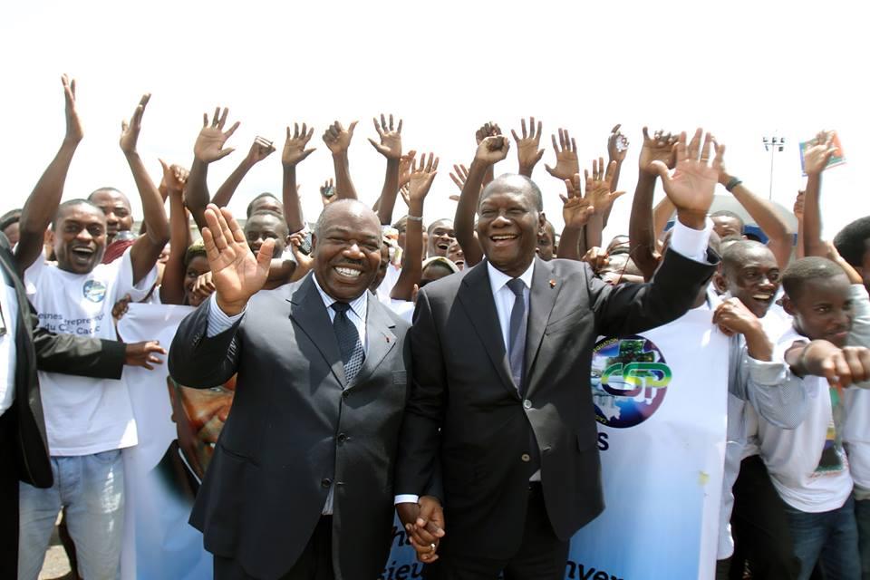 Ouattara a quitté Franceville sans y passer une nuit