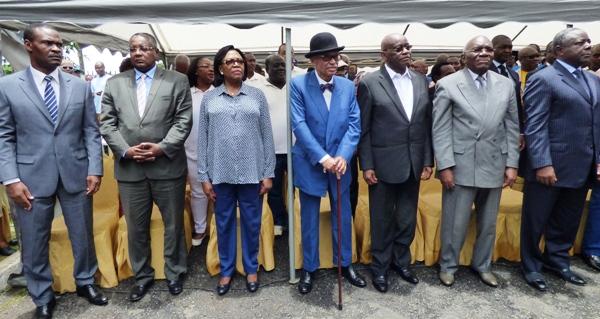 Une vue partielle des dirigeants @ Gabonactu.com