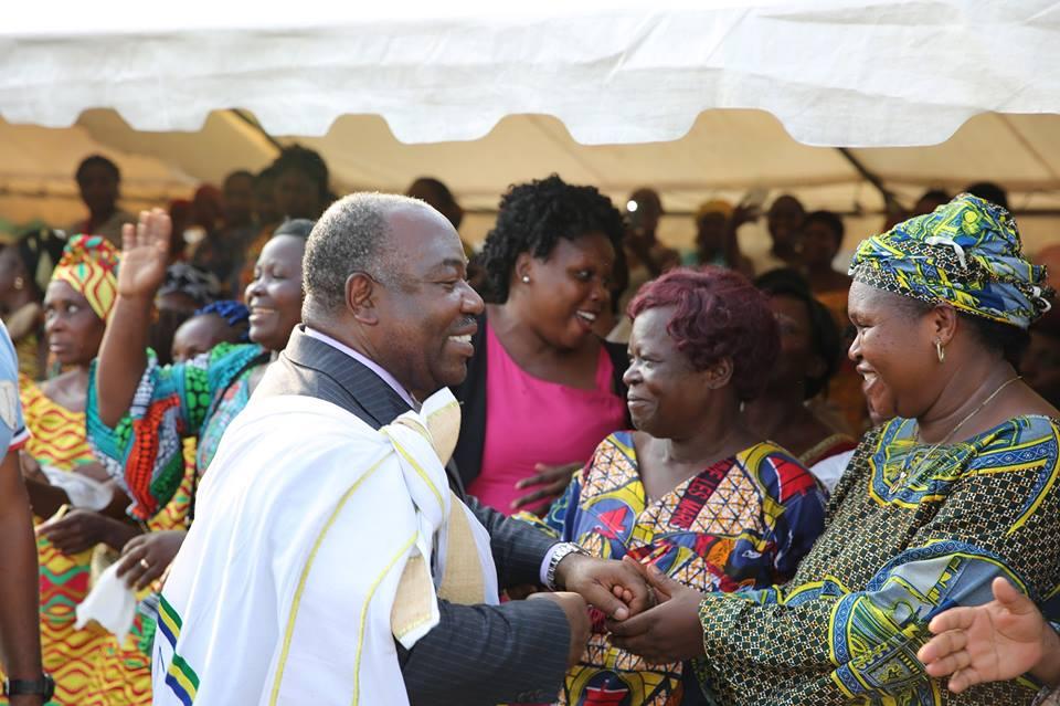 Le Gabon est un champ que toutes les femmes vont cultiver pour nourrir les gabonais (Ali Bongo)