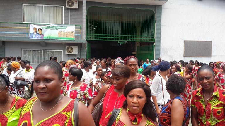La mobilisation des femmes était au rendez-vous @ Gabonactu.com
