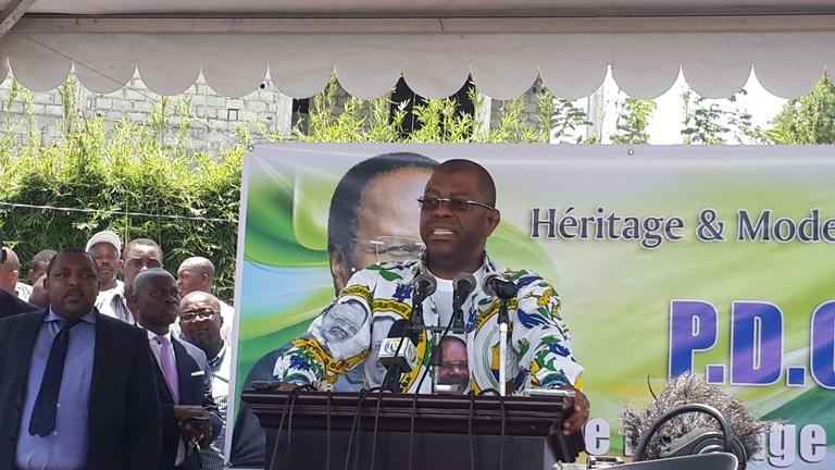 Barro Chambrier, probable candidat du PDG Héritage et Modernité se dit déterminer à aller  jusqu'au bout @ Gabonactu.com