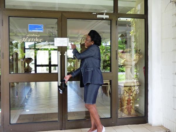 L'hôtel Maisha scellé par les impôts, 4 milliards à payer en 8 jours