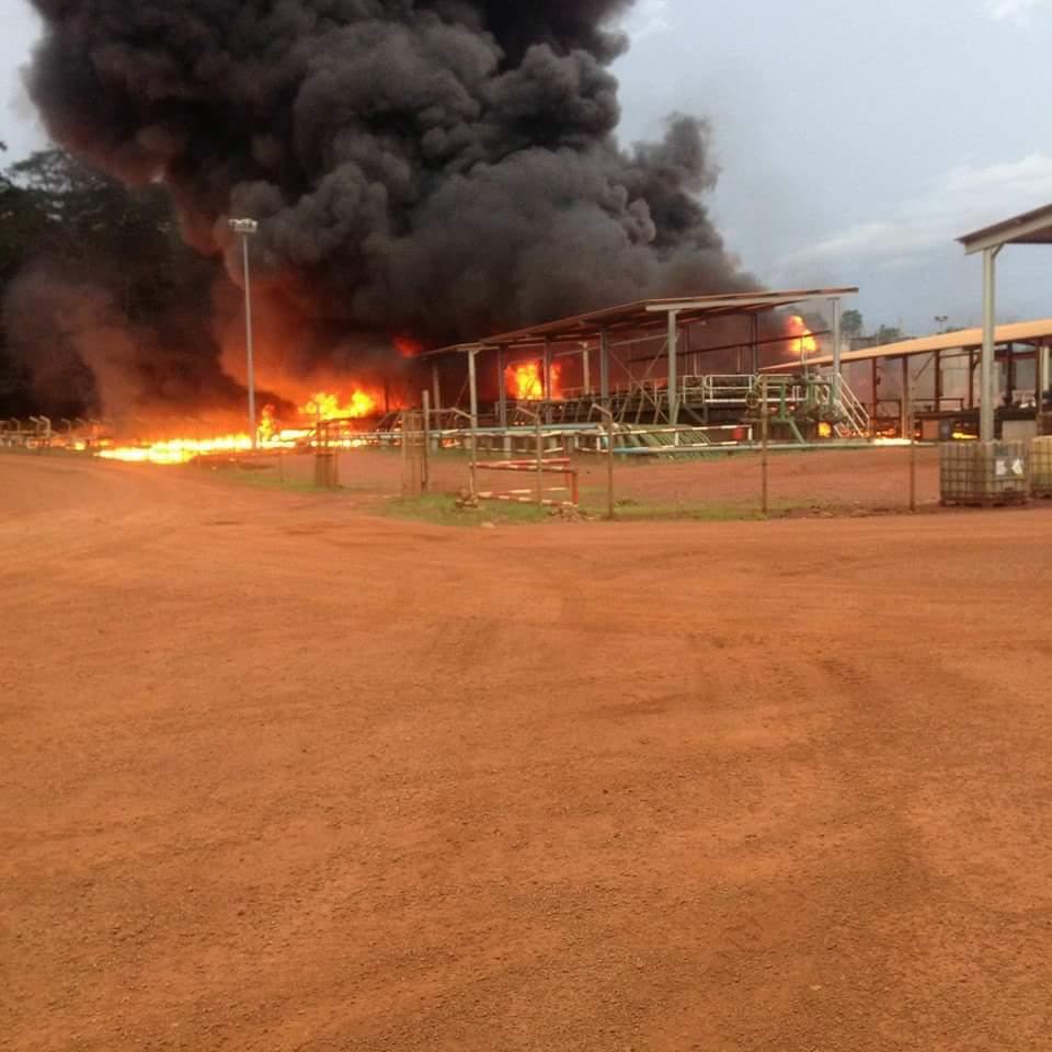 Le pronostic vital des six blessés de l'explosion sur le site pétrolier d'Addax n'est pas engagé (Communiqué)