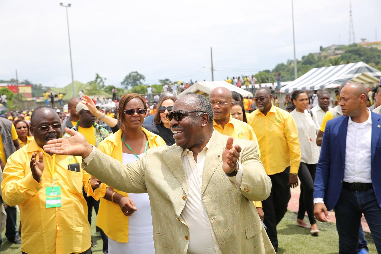 Ali Bongo adoubé par l'UDIS, le parti de HPO