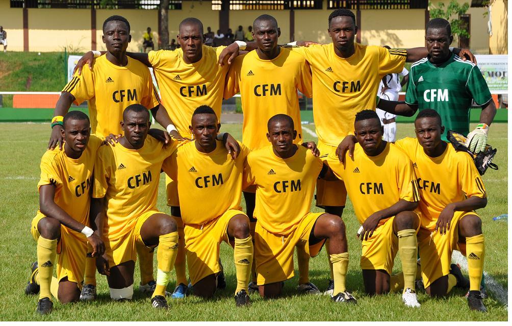 Le CF Mounana qualifié en quarts des finales de la coupe de la CAF