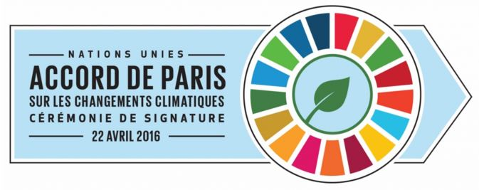 Ali Bongo à New York pour signer l'accord de Paris sur la COP 21