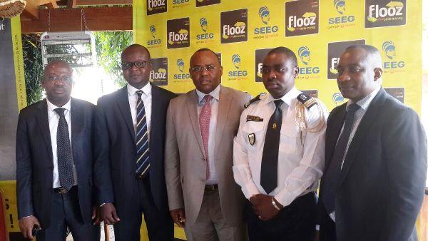 Une vue des officiels @ Moov Gabon