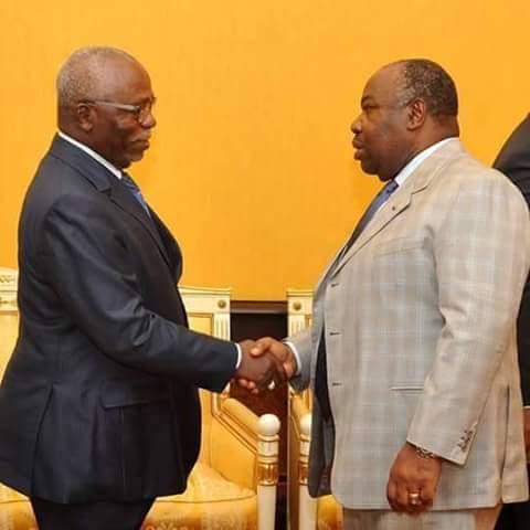 Ce temps des relations verticales et protocolaires entre Nzouba Ndama et Bongo Ondimba  est terminé. Ils sont désormais des adversaires politiques @ DR