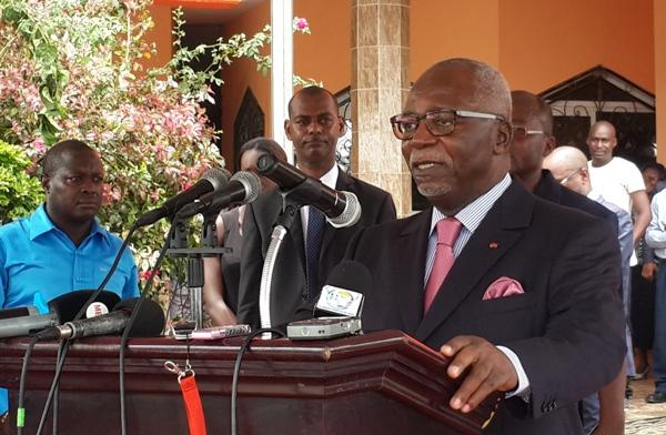Guy Nzouba Ndama annonce sa candidature à l'élection présidentielle