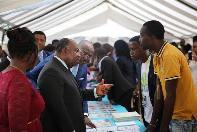 Ali Bongo « évangélise » 1 500 jeunes sur ses rêves pour le Gabon