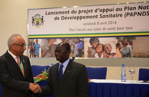Lancement d'un nouveau programme d'amélioration de soins de santé au Gabon