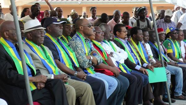 Des opposants ordonnent à Ali Bongo Ondimba de quitter le pouvoir