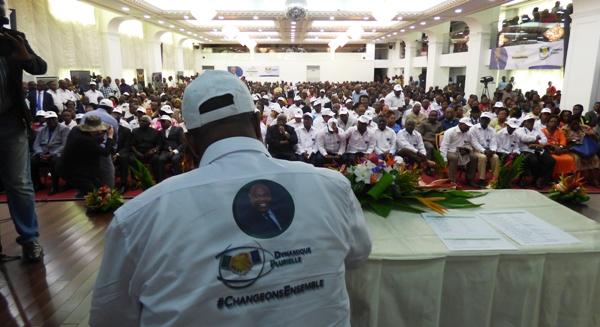Présidentielle 2016 : création d'un vaste mouvement pour la réélection d'Ali Bongo