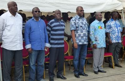 Le directoire d'Héritage et modernité durant la cérémonie @ Gabonactu.com