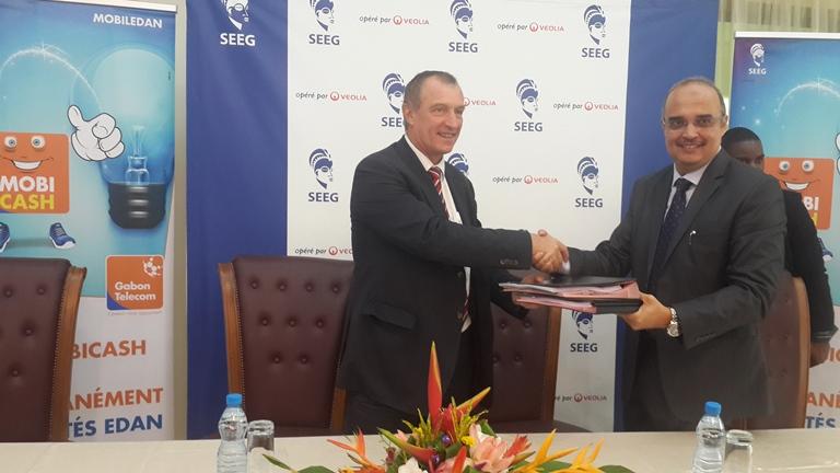 Gabon Télecom et la SEEG scellent un partenariat pour l'achat des factures d'électricité via le téléphone portable