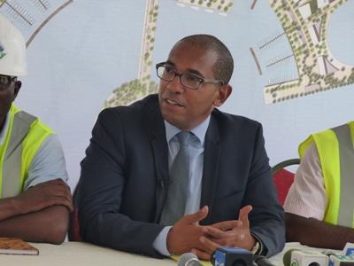 Emmanuel Edane, DG de Façade maritime Champ Triomphal @ Gabonactu.com