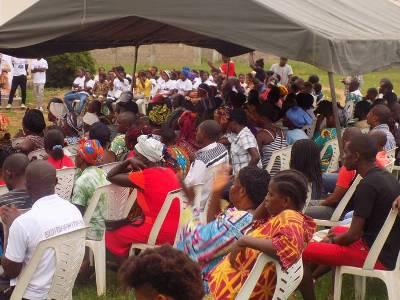 Une vue des participants à la rencontre de Tchibanga @ DR