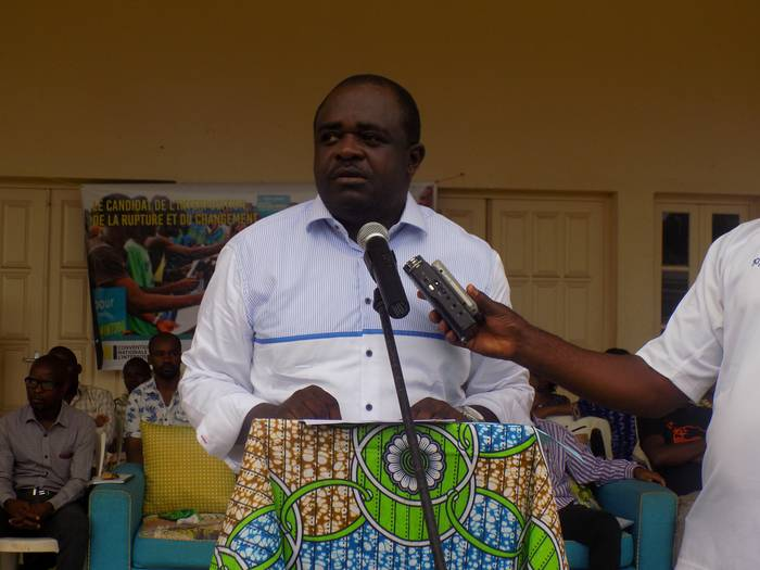 Présidentielle 2016 : Dieudonné Minlama Mintogo a partagé son rêve pour le Gabon aux jeunes de Tchibanga