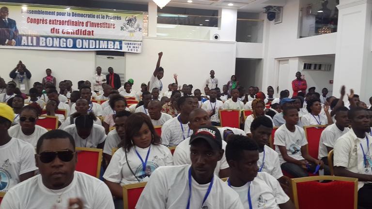 La Jeunesse du RDP s'est dit prête à voter pour le candidat Ali Bongo @ Gabonactu.com