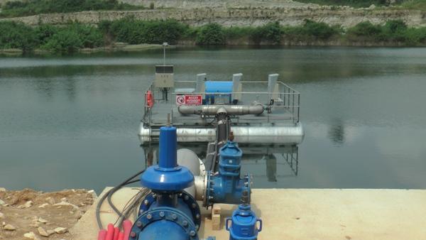 L'usine de Ntoum 6 produit l'essentielle de la quantité d'eau potable consommée à Libreville @ archives Gabonactu.com