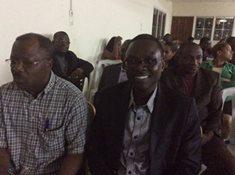 Les participants au séminaire d'informations et d'échanges de l'ADERE@ N.N