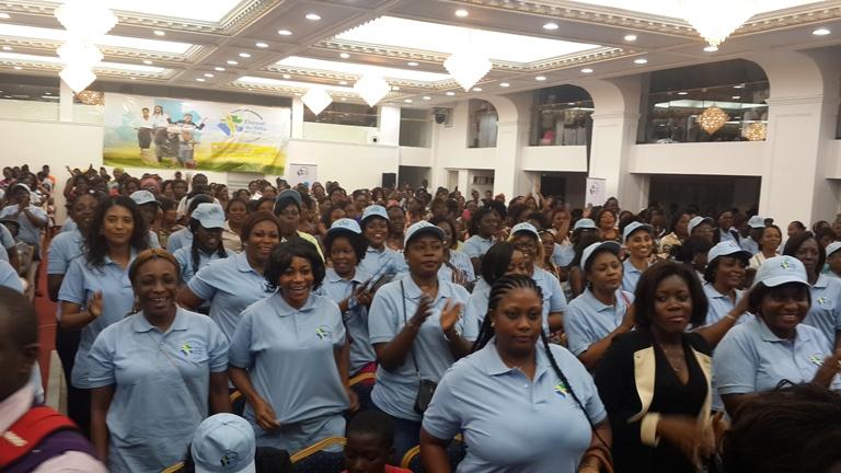 De nombreuses femmes ont dit oui à L'Appel des Mille et Une @ Gabonactu.com