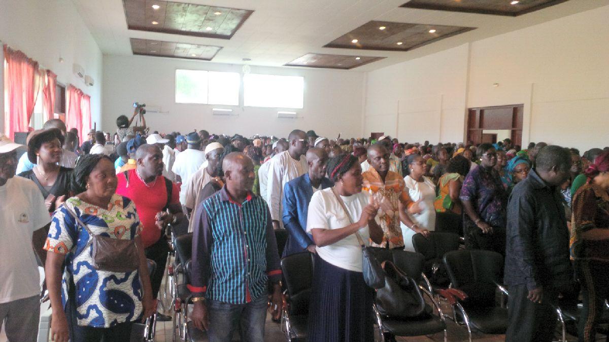 Les membres des différentes associations de Port-Gentil ont répondu favorablement à l'appel de l'homme politique Noël Mboumba @ F. M