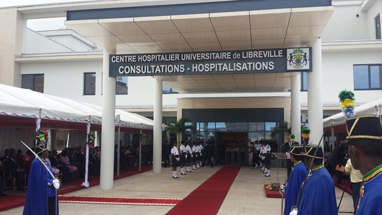 Ali Bongo inaugure le Centre hospitalier universitaire de Libreville phase 2