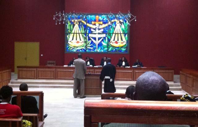 Salle d'audience du Tribunal de Libreville @ DR