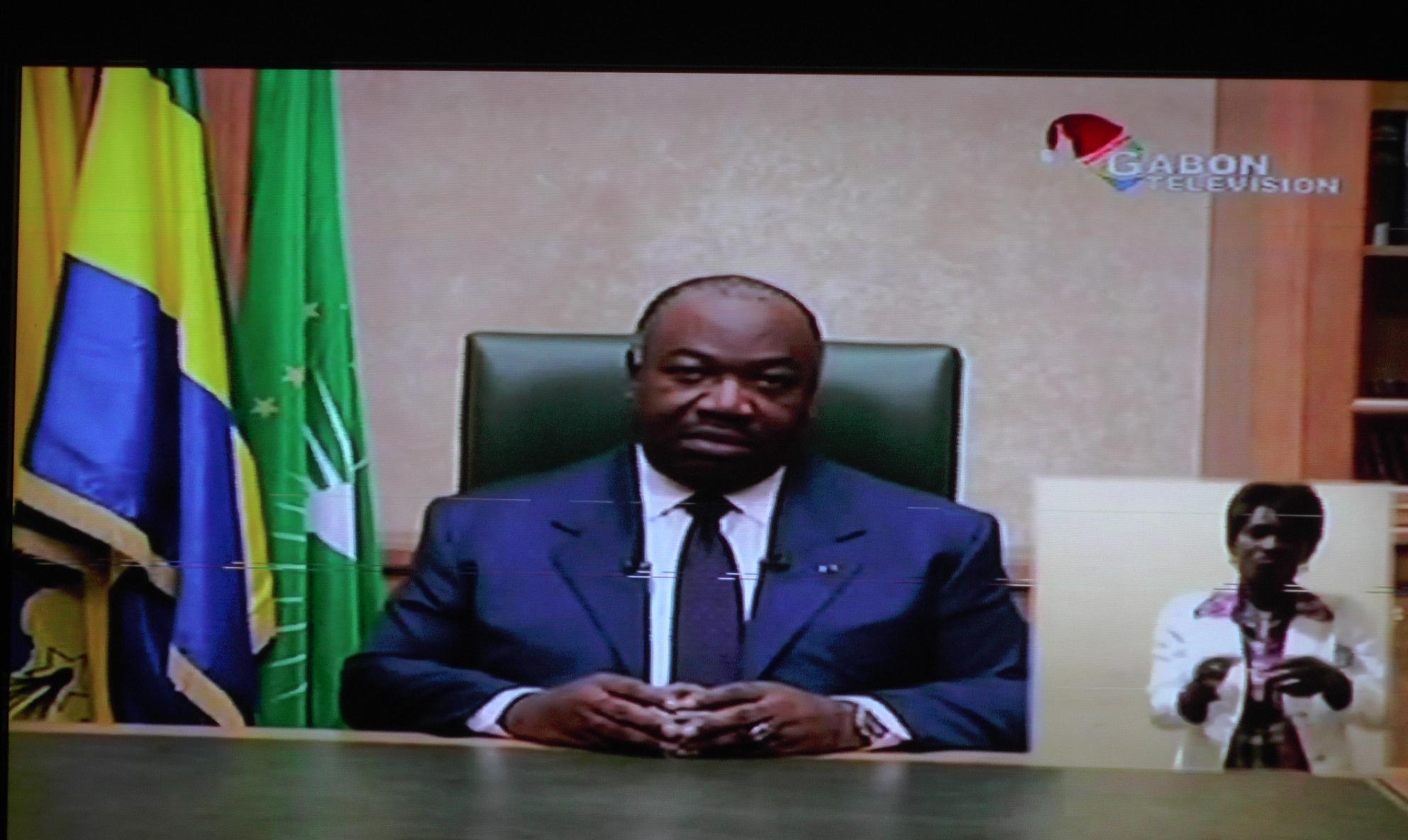 Ali Bongo Ondimba s'adresse au parlement réuni en congrès ce mardi à Libreville