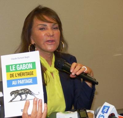 Claude Dumont Beghi dégoutée par les critiques contre son client Ali Bongo Ondimba @ Gabonactu.com