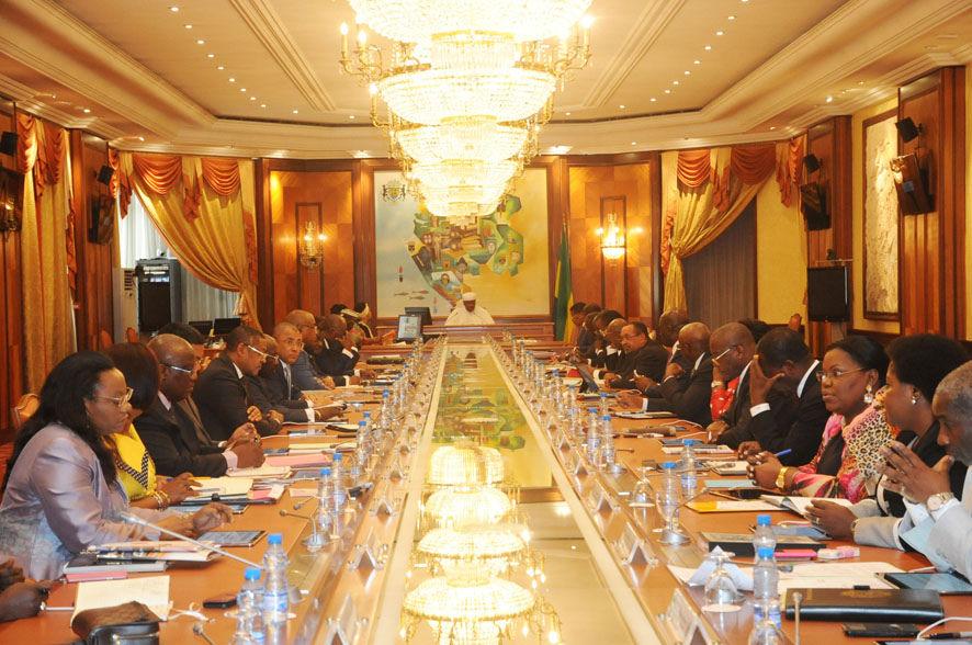 Conseil des ministres ce jeudi
