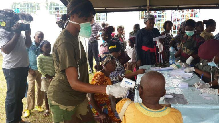 Des malades en pleines consultations médicales @ Gabonactu.com