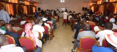 Une vue du public présent lors de la cérémonie @ Gabonactu.com