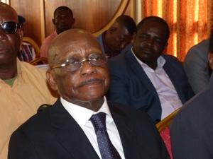 L'ancien 1er ministre Jean François Ntoutoume Emane @ Gabonactu.com