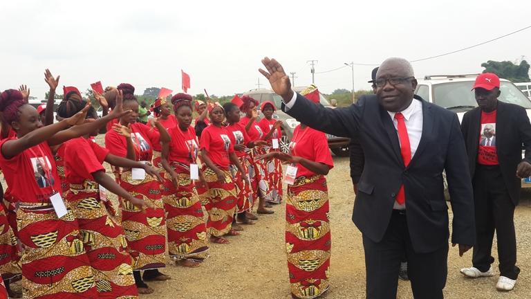 Mathieu Mboumba Nziengui a ouvert les travaux du congrès de l'UPG à la salle polyvalente du complexe sportif Ali Bongo Ondimba de Ndendé @ Gabonactu.com