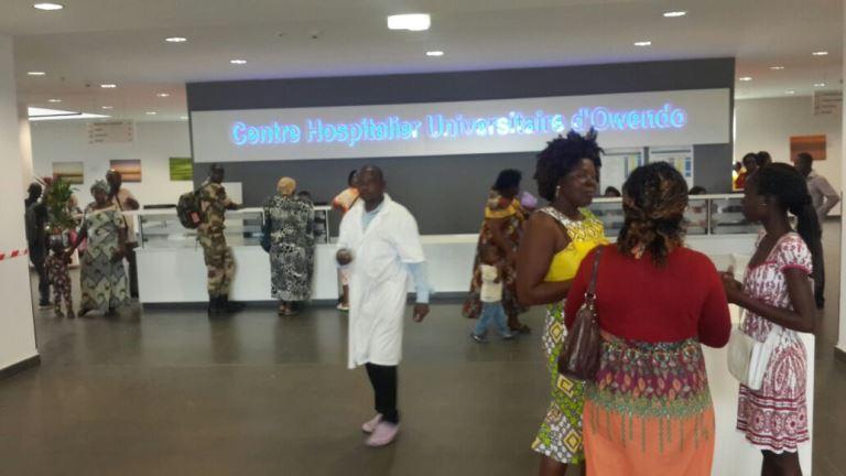 Inauguration du CHU d'Owendo  le 8 juillet prochain