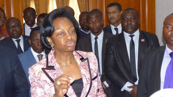 Marie Madeleine Mborantsuo, président de la Cour Constitutionnelle @ Gabonactu.com