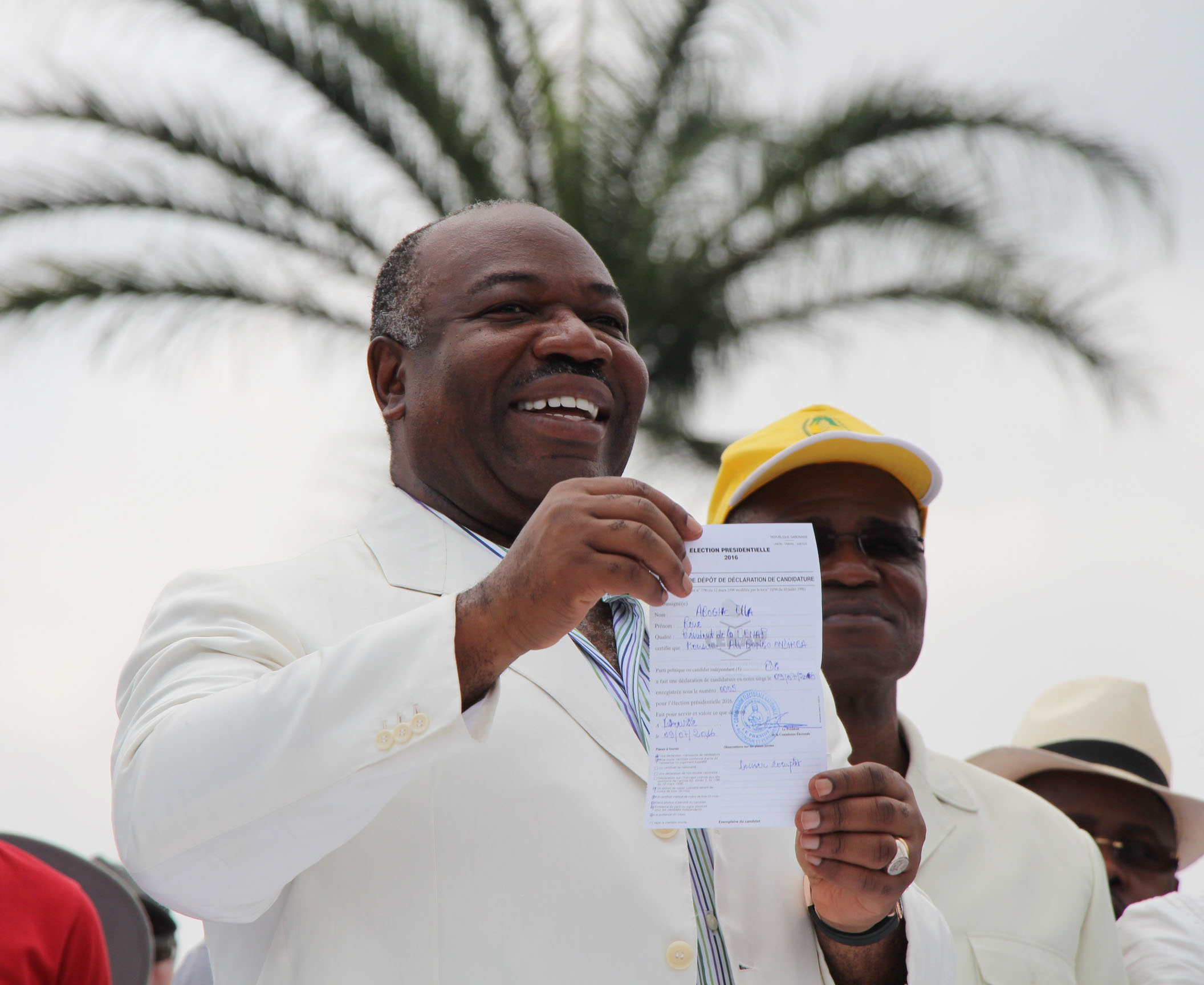 Urgent : la candidature d'Ali Bongo Ondimba validée par la CENAP