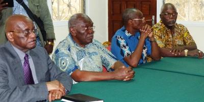 De gà d JF Noutoume Emane, Z Myboto, LP Ngoulakia et G Nzouba Ndama @ Gabonactu.com