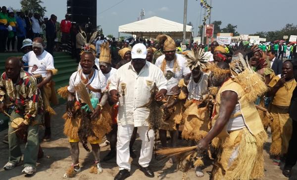 Ali Bongo appelle à l'unité des populations du Haut Ogooué pour garantir la paix au Gabon