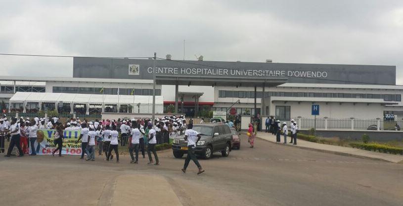 Ali Bongo inaugure le CHU d'Owendo