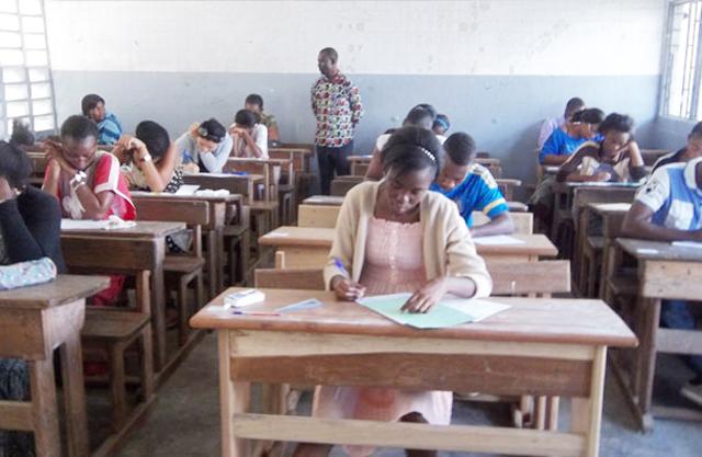 Une séance d'examen du  baccalauréat au Gabon @  DR