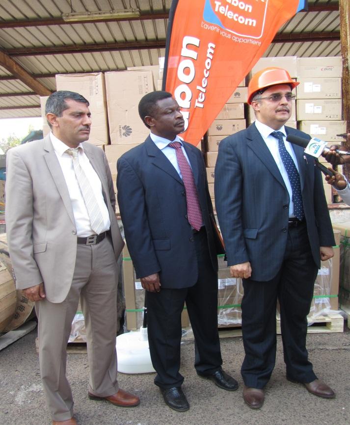 Gabon Telecom lance les travaux d'un vaste programme d'investissement de deux milliards Fcfa à Port Gentil et dans les zones pétrolières
