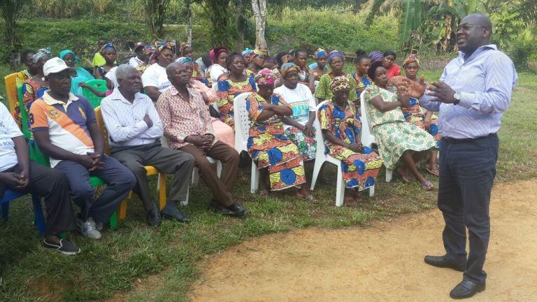 La notabilité du canton Boué n'était pas en reste dans cette sensibilisation de proximité @ Gabonactu.com