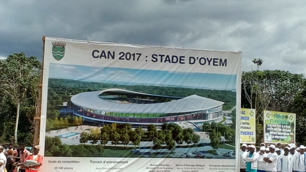 CAN 2017 : la CAF sur une note d'espoir après la visite des chantiers