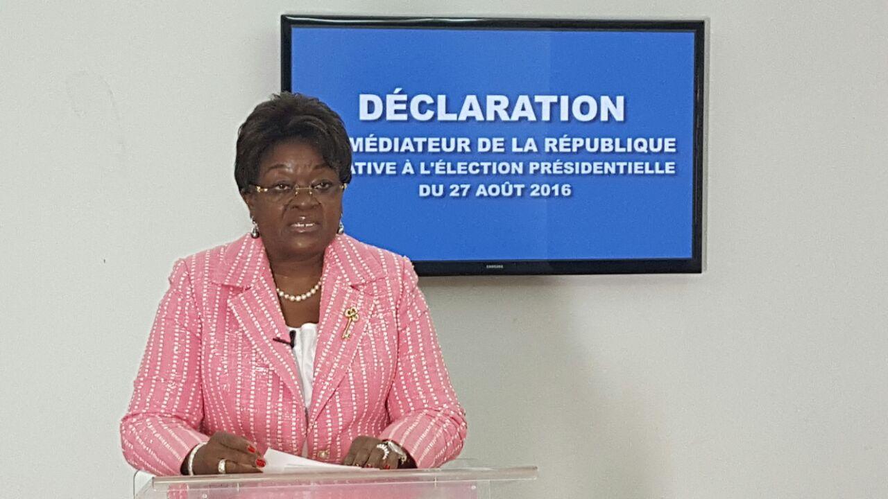 Présidentielle 2016 : déclaration du médiateur de la République