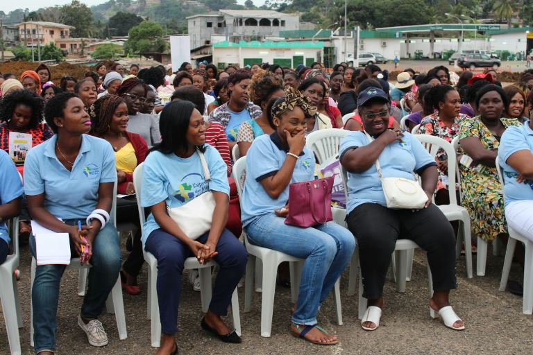 Plus de 300 femmes gabonaises conscientisées par  « L'Appel des Mille et Une », un mouvement féministe