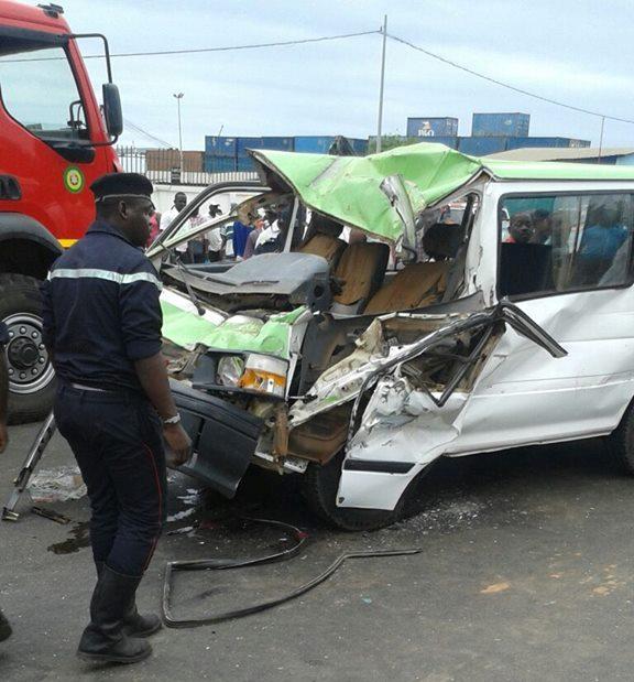 Aucun mort dans l'accident survenu devant l'hôtel Boulevard à Acae (Police)